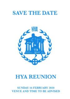 HYA Reunion