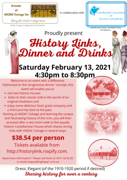 History Links Dinner & Drinks 3d